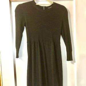 Theory 3/4 sleeve knit dress